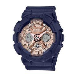 CASIO 지샥 GMA-S120MF-2A2 네이비 로즈골드 시계