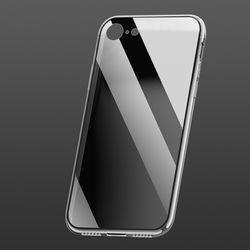 아이폰 7 8 투명 강화유리케이스 CS