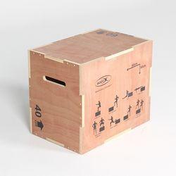 우드 폴리오 박스 60cm (PLYO WOOD BOX)