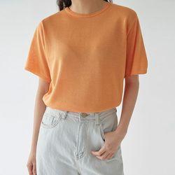 bling short sleeve knit