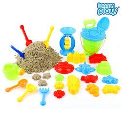 모래놀이세트 아기 유아 물놀이 장난감 용품 모래놀이 25PCS