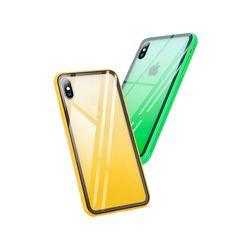 아이폰6S 컬러풀 강화유리 하드 케이스 P268