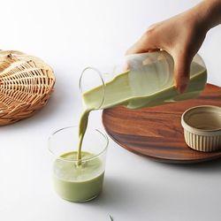 TDY 내열유리 컵 앤 카라페 세트(컵(250ml)+카라페(550ml)