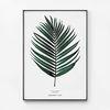 대형 메탈 식물 인테리어 포스터 액자 코코넛 나뭇잎