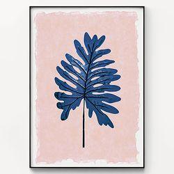 대형 메탈 식물 감성 인테리어 포스터 액자 로즈쿼츠