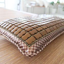 여름 열대야 시원한 대나무 탄화마작 건강 향균 베개