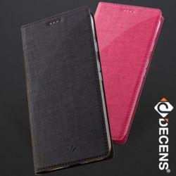 데켄스 M579 아이폰 캔버스 플립 핸드폰 케이스