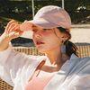 비치플레이바 스트랩 볼캡 - Pink