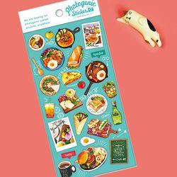 마인드웨이브 포토제닉 스티커 79180 Cafe lunch