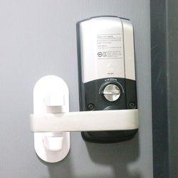 홈트너스 문고리 고정장치 서랍 잠금장치 열림방지 (2개입)