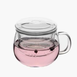 투명한 유리 찻잔(300ml)