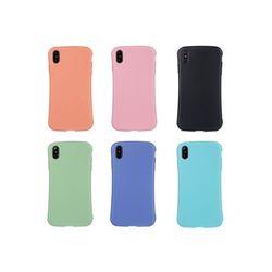 아이폰8 파스텔 컬러 실리콘 케이스 P238