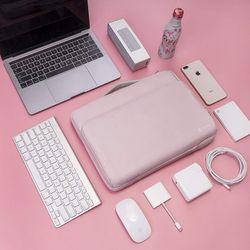 A14 맥북 노트북 가방 슬리브 13인치-13.5인치 베이비핑크
