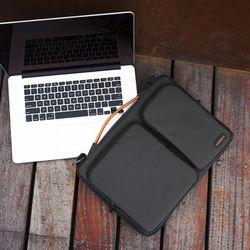 A42 맥북 노트북 가방 15인치-15.6인치 블랙