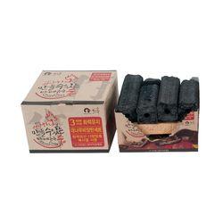 모락 성냥 하나로 불 붙이는 대나무비장탄 바베큐용 숯 4-5인용