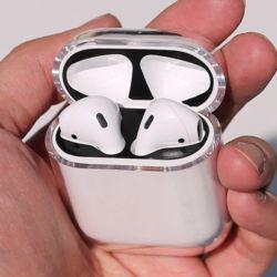 에어팟 투명 케이스 airpods 악세사리 에어팟2 겸용