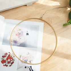 메탈링 25cm 인테리어 DIY 소품 장식 링 FDIYFT