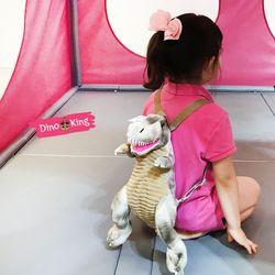 티라노 공룡 가방 아동백팩 (베이지S)