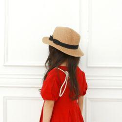 심플리본햇 아동 여름 밀짚 모자