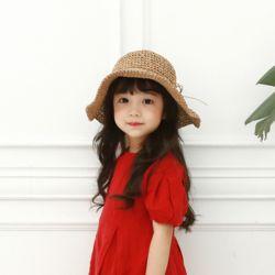 리타 아동 여름 밀짚 모자