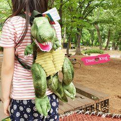 티라노 공룡 가방 아동백팩 (그린S)