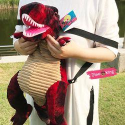 티라노 공룡 가방 아동백팩 (레드L)