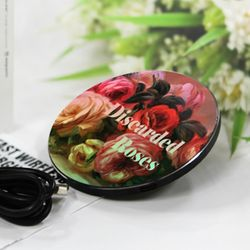 [~7/22까지] [르누아르] Discarded Roses - 무선충전 명화트윙클패드