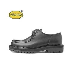 BLACK OVER SOLE TIROLEAN SHOES BLACK