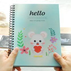 [스티커증정] 행복한 쥐 임신초음파앨범