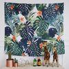정글에핀오렌지꽃 대형 패브릭포스터 150x130cm