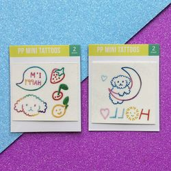 pp mini tattoos - 푸들 2종 택 1