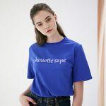 베이직 로고 티셔츠 C218TS002-BL