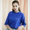 세미써클 로고 티셔츠 C218TS003-BL