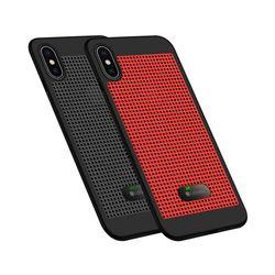 아이폰6 풀커버 온도표시 도트 메탈 케이스 P272