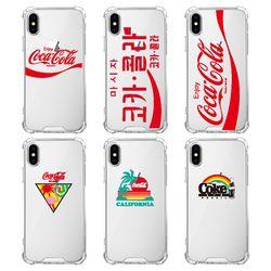 스키누 x  Coca-Cola 2019 투명케이스-갤럭시 노트9