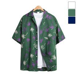 몰디브 하와이안 반팔 셔츠 SHT187
