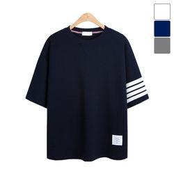 톰 사선 반팔 티셔츠 TSB827