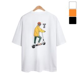 킥보드 반팔 티셔츠 TSB817
