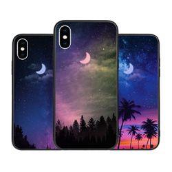[T]밤하늘달 홀로그램 미러범퍼.아이폰6(s)플러스