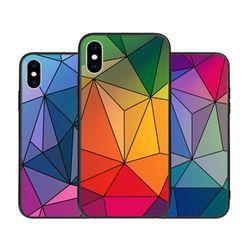 [T]큐비즘 홀로그램 미러범퍼.아이폰6(s)플러스