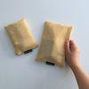 옐로우 에코 메쉬 파우치(Yellow eco mesh pouch)-medium