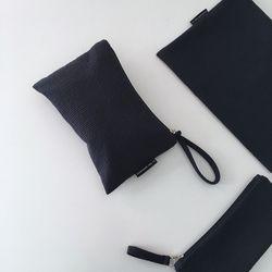 퀼팅 네이비 미니 클러치(Quilting navy mini clutch)-large