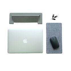 [1300k단독] 3STEP 노트북키트 - 노트북거치대+마우스패드+웹캠커버