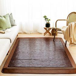 럭셔리메쉬 탄화마작 침대자리 135x180 더블