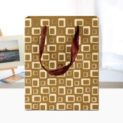 큐브 디자인 쇼핑백(18x23cm)