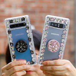 갤럭시노트9 (N960) CubicoTok 큐빅 스마트 그립톡 케이스