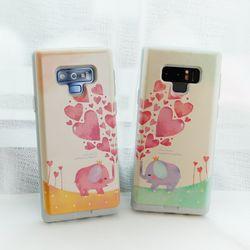 갤럭시와이드4 (A205) Liso-LoveingU 카드 범퍼 케이스