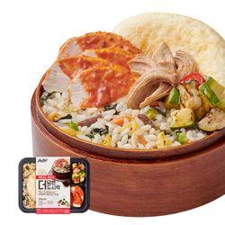 더담은 닭가슴살 도시락 전주비빔밥&토마토로제소스 10팩