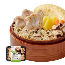 더담은 닭가슴살 도시락 시래기표고밥&소프트 마늘맛 1팩