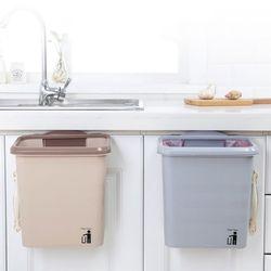 비진 주방 걸이식 씽크대 음식물 쓰레기통 휴지통